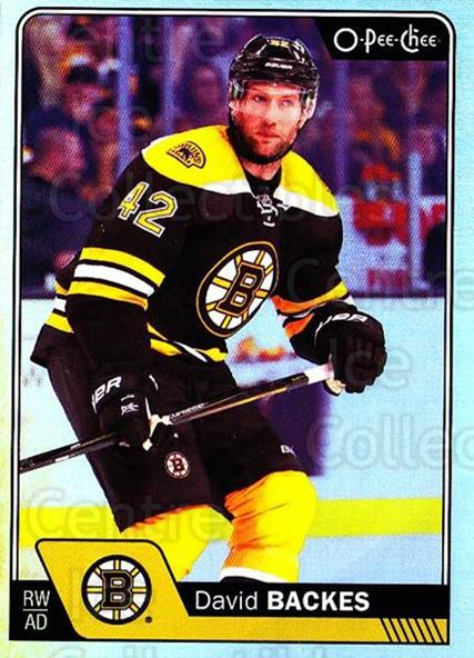 2016-17 O-Pee-Chee Rainbow #662 David Backes<br/>1 In Stock - $3.00 each - <a href=https://centericecollectibles.foxycart.com/cart?name=2016-17%20O-Pee-Chee%20Rainbow%20%23662%20David%20Backes...&quantity_max=1&price=$3.00&code=738039 class=foxycart> Buy it now! </a>