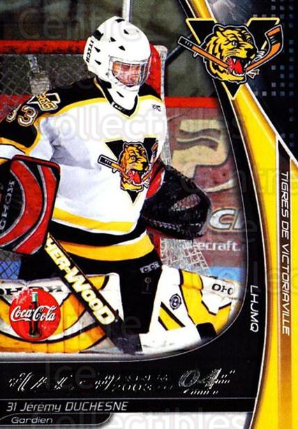2003-04 Victoriaville Tigres #8 Jeremy Duchesne<br/>1 In Stock - $3.00 each - <a href=https://centericecollectibles.foxycart.com/cart?name=2003-04%20Victoriaville%20Tigres%20%238%20Jeremy%20Duchesne...&quantity_max=1&price=$3.00&code=738405 class=foxycart> Buy it now! </a>