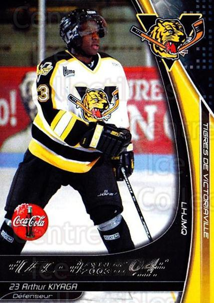 2003-04 Victoriaville Tigres #15 Arthur Kiyaga<br/>1 In Stock - $3.00 each - <a href=https://centericecollectibles.foxycart.com/cart?name=2003-04%20Victoriaville%20Tigres%20%2315%20Arthur%20Kiyaga...&quantity_max=1&price=$3.00&code=738407 class=foxycart> Buy it now! </a>