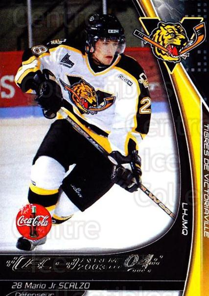 2003-04 Victoriaville Tigres #23 Mario Scalzo<br/>1 In Stock - $3.00 each - <a href=https://centericecollectibles.foxycart.com/cart?name=2003-04%20Victoriaville%20Tigres%20%2323%20Mario%20Scalzo...&quantity_max=1&price=$3.00&code=738410 class=foxycart> Buy it now! </a>