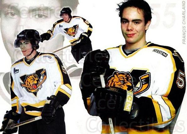 2003-04 Victoriaville Tigres #LE01 Francis Charland<br/>1 In Stock - $3.00 each - <a href=https://centericecollectibles.foxycart.com/cart?name=2003-04%20Victoriaville%20Tigres%20%23LE01%20Francis%20Charlan...&quantity_max=1&price=$3.00&code=738412 class=foxycart> Buy it now! </a>