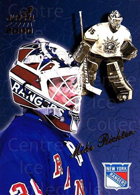 1999-00 Aurora #97 Mike Richter<br/>3 In Stock - $1.00 each - <a href=https://centericecollectibles.foxycart.com/cart?name=1999-00%20Aurora%20%2397%20Mike%20Richter...&quantity_max=3&price=$1.00&code=73846 class=foxycart> Buy it now! </a>