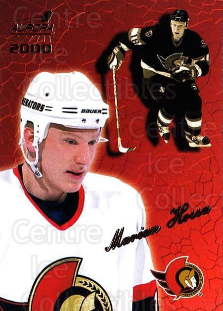 1999-00 Aurora #99 Marian Hossa<br/>4 In Stock - $1.00 each - <a href=https://centericecollectibles.foxycart.com/cart?name=1999-00%20Aurora%20%2399%20Marian%20Hossa...&quantity_max=4&price=$1.00&code=73848 class=foxycart> Buy it now! </a>