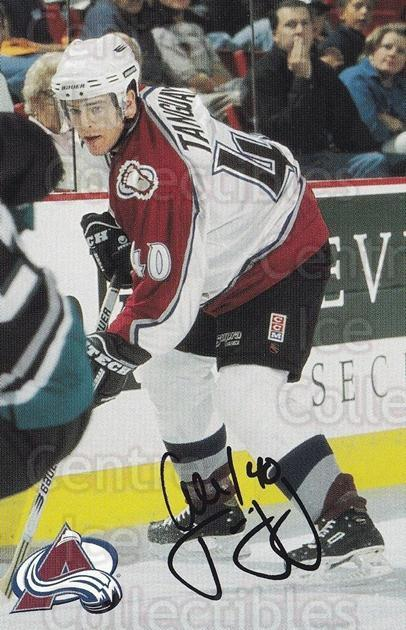1999-00 Colorado Avalanche Team Issue #22 Alex Tanguay<br/>2 In Stock - $3.00 each - <a href=https://centericecollectibles.foxycart.com/cart?name=1999-00%20Colorado%20Avalanche%20Team%20Issue%20%2322%20Alex%20Tanguay...&quantity_max=2&price=$3.00&code=73861 class=foxycart> Buy it now! </a>