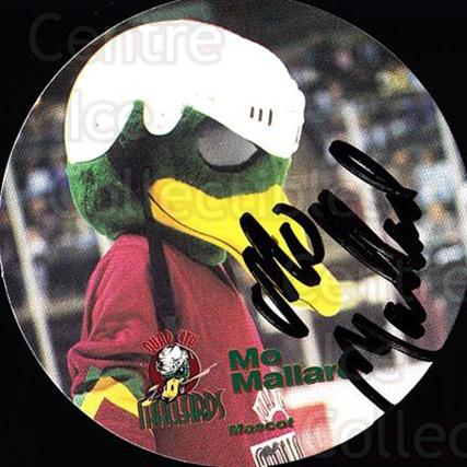 1996-97 Quad City Mallards #22 Mascot<br/>1 In Stock - $3.00 each - <a href=https://centericecollectibles.foxycart.com/cart?name=1996-97%20Quad%20City%20Mallards%20%2322%20Mascot...&quantity_max=1&price=$3.00&code=739130 class=foxycart> Buy it now! </a>