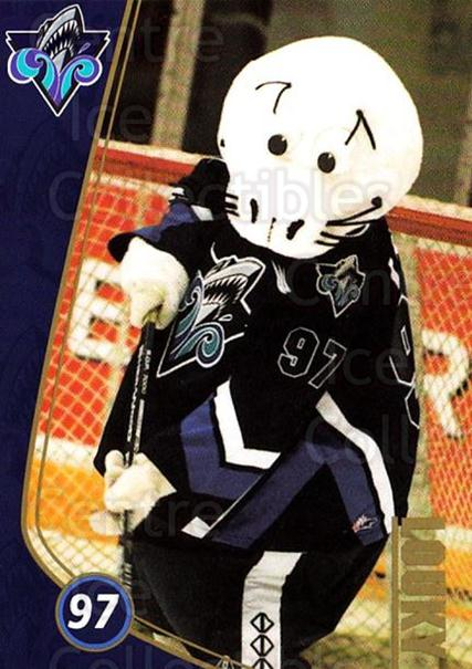 1999-00 Rimouski Oceanic 5th Season #25 Mascot<br/>1 In Stock - $3.00 each - <a href=https://centericecollectibles.foxycart.com/cart?name=1999-00%20Rimouski%20Oceanic%205th%20Season%20%2325%20Mascot...&quantity_max=1&price=$3.00&code=739499 class=foxycart> Buy it now! </a>