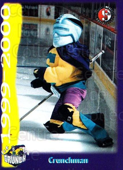 1999-00 Syracuse Crunch #6 Mascot<br/>1 In Stock - $3.00 each - <a href=https://centericecollectibles.foxycart.com/cart?name=1999-00%20Syracuse%20Crunch%20%236%20Mascot...&quantity_max=1&price=$3.00&code=739505 class=foxycart> Buy it now! </a>