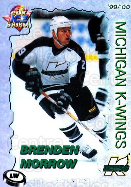 1999-00 Michigan K-Wings #17 Brenden Morrow<br/>1 In Stock - $5.00 each - <a href=https://centericecollectibles.foxycart.com/cart?name=1999-00%20Michigan%20K-Wings%20%2317%20Brenden%20Morrow...&quantity_max=1&price=$5.00&code=739620 class=foxycart> Buy it now! </a>