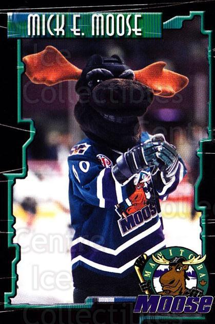 2000-01 Manitoba Moose #23 Mascot<br/>2 In Stock - $3.00 each - <a href=https://centericecollectibles.foxycart.com/cart?name=2000-01%20Manitoba%20Moose%20%2323%20Mascot...&quantity_max=2&price=$3.00&code=739752 class=foxycart> Buy it now! </a>