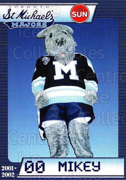 2001-02 Toronto St. Michaels Majors #28 Mascot<br/>2 In Stock - $3.00 each - <a href=https://centericecollectibles.foxycart.com/cart?name=2001-02%20Toronto%20St.%20Michaels%20Majors%20%2328%20Mascot...&quantity_max=2&price=$3.00&code=740003 class=foxycart> Buy it now! </a>