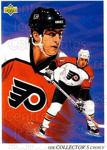 1992-93 Upper Deck #15 Rod Brind'Amour, Checklist<br/>4 In Stock - $1.00 each - <a href=https://centericecollectibles.foxycart.com/cart?name=1992-93%20Upper%20Deck%20%2315%20Rod%20Brind'Amour...&quantity_max=4&price=$1.00&code=7401 class=foxycart> Buy it now! </a>