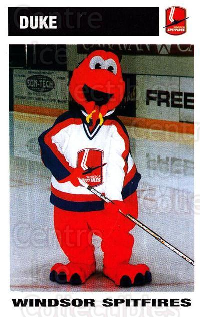 2002-03 Windsor Spitfires #28 Mascot<br/>2 In Stock - $3.00 each - <a href=https://centericecollectibles.foxycart.com/cart?name=2002-03%20Windsor%20Spitfires%20%2328%20Mascot...&quantity_max=2&price=$3.00&code=740277 class=foxycart> Buy it now! </a>
