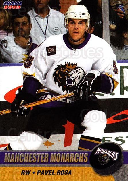 2002-03 Manchester Monarchs #B11 Pavel Rosa<br/>1 In Stock - $3.00 each - <a href=https://centericecollectibles.foxycart.com/cart?name=2002-03%20Manchester%20Monarchs%20%23B11%20Pavel%20Rosa...&quantity_max=1&price=$3.00&code=740558 class=foxycart> Buy it now! </a>