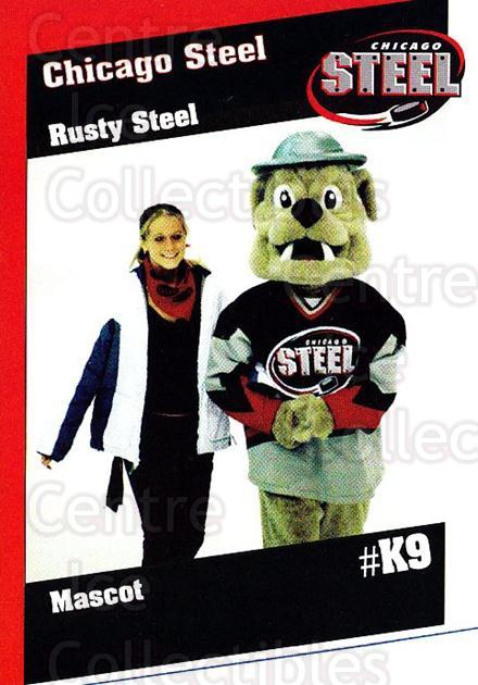 2002-03 Chicago Steel #24 Mascot<br/>3 In Stock - $3.00 each - <a href=https://centericecollectibles.foxycart.com/cart?name=2002-03%20Chicago%20Steel%20%2324%20Mascot...&quantity_max=3&price=$3.00&code=740644 class=foxycart> Buy it now! </a>