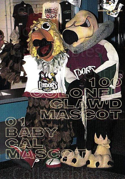 2002-03 Bakersfield Condors #23 Mascot<br/>1 In Stock - $3.00 each - <a href=https://centericecollectibles.foxycart.com/cart?name=2002-03%20Bakersfield%20Condors%20%2323%20Mascot...&quantity_max=1&price=$3.00&code=741021 class=foxycart> Buy it now! </a>