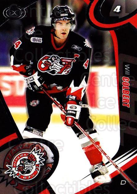 2004-05 Ottawa 67's #13 Will Colbert<br/>2 In Stock - $3.00 each - <a href=https://centericecollectibles.foxycart.com/cart?name=2004-05%20Ottawa%2067's%20%2313%20Will%20Colbert...&quantity_max=2&price=$3.00&code=741157 class=foxycart> Buy it now! </a>