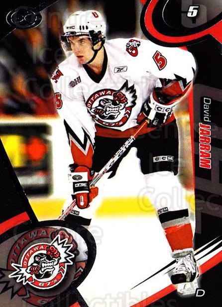 2004-05 Ottawa 67's #14 David Jarram<br/>1 In Stock - $3.00 each - <a href=https://centericecollectibles.foxycart.com/cart?name=2004-05%20Ottawa%2067's%20%2314%20David%20Jarram...&quantity_max=1&price=$3.00&code=741158 class=foxycart> Buy it now! </a>