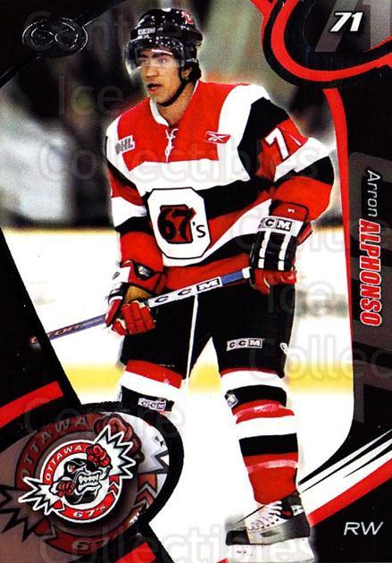 2004-05 Ottawa 67's #17 Arron Alphonso<br/>2 In Stock - $3.00 each - <a href=https://centericecollectibles.foxycart.com/cart?name=2004-05%20Ottawa%2067's%20%2317%20Arron%20Alphonso...&quantity_max=2&price=$3.00&code=741161 class=foxycart> Buy it now! </a>