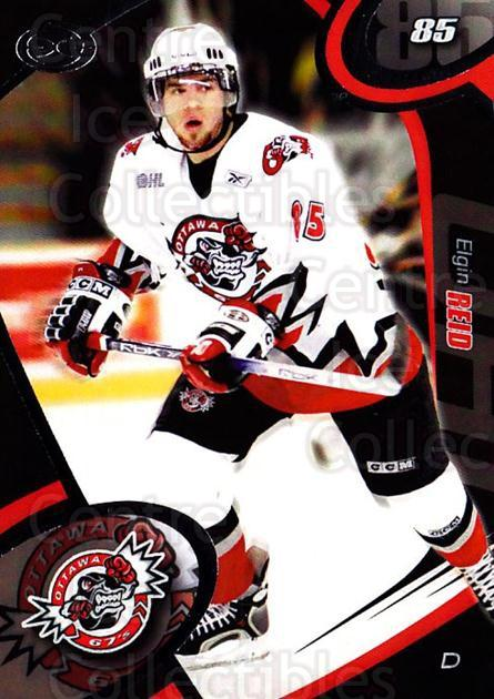 2004-05 Ottawa 67's #19 Elgin Reid<br/>1 In Stock - $3.00 each - <a href=https://centericecollectibles.foxycart.com/cart?name=2004-05%20Ottawa%2067's%20%2319%20Elgin%20Reid...&quantity_max=1&price=$3.00&code=741163 class=foxycart> Buy it now! </a>