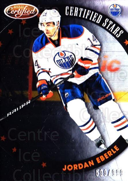 2012-13 Certified Stars #8 Jordan Eberle<br/>1 In Stock - $5.00 each - <a href=https://centericecollectibles.foxycart.com/cart?name=2012-13%20Certified%20Stars%20%238%20Jordan%20Eberle...&quantity_max=1&price=$5.00&code=741781 class=foxycart> Buy it now! </a>