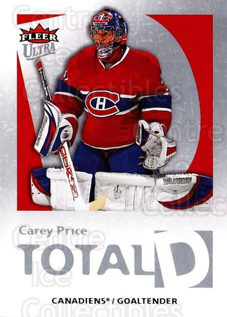 2008-09 Ultra Total D #14 Carey Price<br/>1 In Stock - $10.00 each - <a href=https://centericecollectibles.foxycart.com/cart?name=2008-09%20Ultra%20Total%20D%20%2314%20Carey%20Price...&quantity_max=1&price=$10.00&code=741807 class=foxycart> Buy it now! </a>
