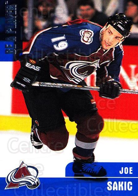 1999-00 BAP Memorabilia #103 Joe Sakic<br/>2 In Stock - $2.00 each - <a href=https://centericecollectibles.foxycart.com/cart?name=1999-00%20BAP%20Memorabilia%20%23103%20Joe%20Sakic...&quantity_max=2&price=$2.00&code=74183 class=foxycart> Buy it now! </a>
