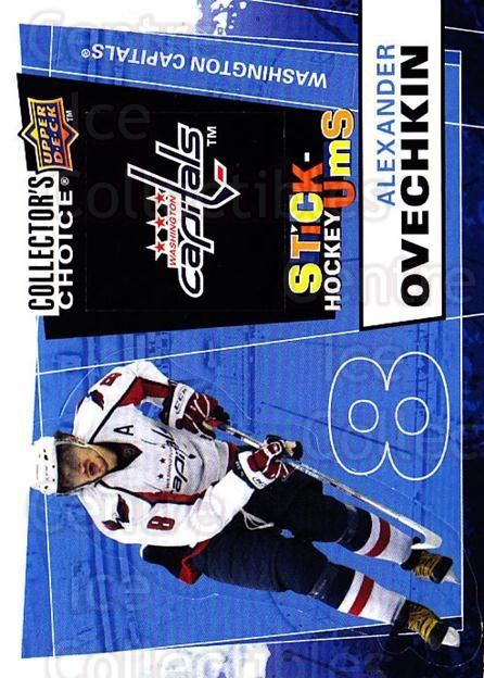 2008-09 Collectors Choice Stick Ums #1 Alexander Ovechkin<br/>1 In Stock - $3.00 each - <a href=https://centericecollectibles.foxycart.com/cart?name=2008-09%20Collectors%20Choice%20Stick%20Ums%20%231%20Alexander%20Ovech...&quantity_max=1&price=$3.00&code=741857 class=foxycart> Buy it now! </a>