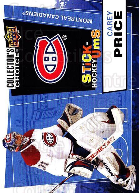 2008-09 Collectors Choice Stick Ums #3 Carey Price<br/>1 In Stock - $5.00 each - <a href=https://centericecollectibles.foxycart.com/cart?name=2008-09%20Collectors%20Choice%20Stick%20Ums%20%233%20Carey%20Price...&quantity_max=1&price=$5.00&code=741859 class=foxycart> Buy it now! </a>