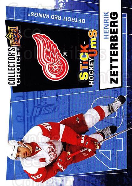2008-09 Collectors Choice Stick Ums #7 Henrik Zetterberg<br/>1 In Stock - $2.00 each - <a href=https://centericecollectibles.foxycart.com/cart?name=2008-09%20Collectors%20Choice%20Stick%20Ums%20%237%20Henrik%20Zetterbe...&quantity_max=1&price=$2.00&code=741863 class=foxycart> Buy it now! </a>