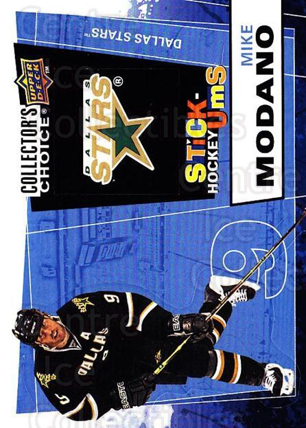 2008-09 Collectors Choice Stick Ums #19 Mike Modano<br/>1 In Stock - $2.00 each - <a href=https://centericecollectibles.foxycart.com/cart?name=2008-09%20Collectors%20Choice%20Stick%20Ums%20%2319%20Mike%20Modano...&quantity_max=1&price=$2.00&code=741875 class=foxycart> Buy it now! </a>