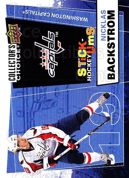 2008-09 Collectors Choice Stick Ums #21 Nicklas Backstrom<br/>1 In Stock - $2.00 each - <a href=https://centericecollectibles.foxycart.com/cart?name=2008-09%20Collectors%20Choice%20Stick%20Ums%20%2321%20Nicklas%20Backstr...&quantity_max=1&price=$2.00&code=741877 class=foxycart> Buy it now! </a>