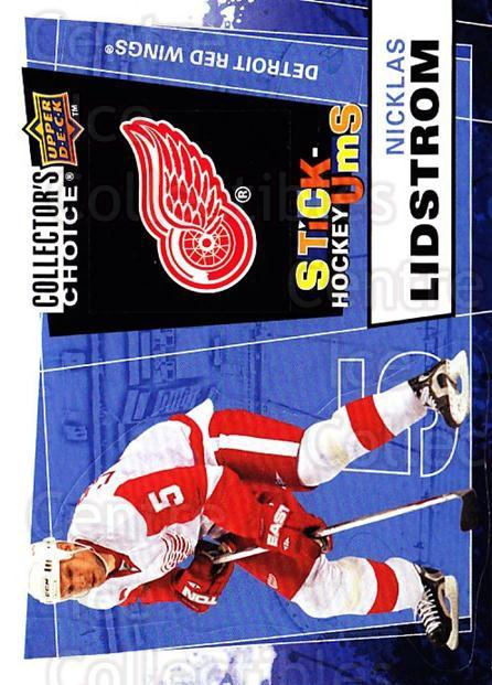 2008-09 Collectors Choice Stick Ums #22 Nicklas Lidstrom<br/>1 In Stock - $2.00 each - <a href=https://centericecollectibles.foxycart.com/cart?name=2008-09%20Collectors%20Choice%20Stick%20Ums%20%2322%20Nicklas%20Lidstro...&quantity_max=1&price=$2.00&code=741878 class=foxycart> Buy it now! </a>