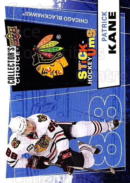 2008-09 Collectors Choice Stick Ums #23 Patrick Kane<br/>1 In Stock - $3.00 each - <a href=https://centericecollectibles.foxycart.com/cart?name=2008-09%20Collectors%20Choice%20Stick%20Ums%20%2323%20Patrick%20Kane...&quantity_max=1&price=$3.00&code=741879 class=foxycart> Buy it now! </a>