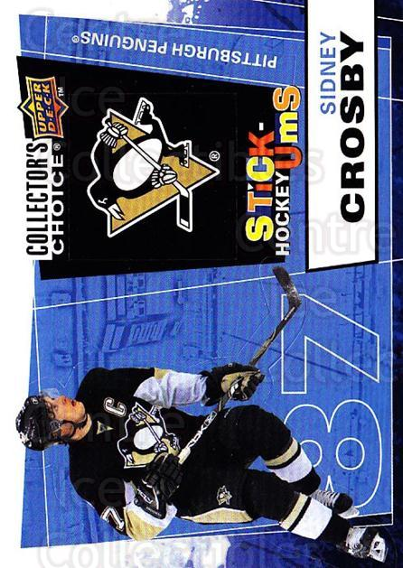 2008-09 Collectors Choice Stick Ums #29 Sidney Crosby<br/>1 In Stock - $5.00 each - <a href=https://centericecollectibles.foxycart.com/cart?name=2008-09%20Collectors%20Choice%20Stick%20Ums%20%2329%20Sidney%20Crosby...&quantity_max=1&price=$5.00&code=741885 class=foxycart> Buy it now! </a>