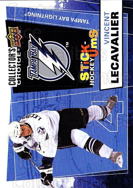 2008-09 Collectors Choice Stick Ums #30 Vincent Lecavalier<br/>1 In Stock - $2.00 each - <a href=https://centericecollectibles.foxycart.com/cart?name=2008-09%20Collectors%20Choice%20Stick%20Ums%20%2330%20Vincent%20Lecaval...&quantity_max=1&price=$2.00&code=741886 class=foxycart> Buy it now! </a>