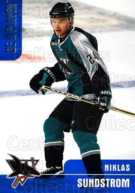 1999-00 BAP Memorabilia #112 Niklas Sundstrom<br/>5 In Stock - $1.00 each - <a href=https://centericecollectibles.foxycart.com/cart?name=1999-00%20BAP%20Memorabilia%20%23112%20Niklas%20Sundstro...&quantity_max=5&price=$1.00&code=74193 class=foxycart> Buy it now! </a>