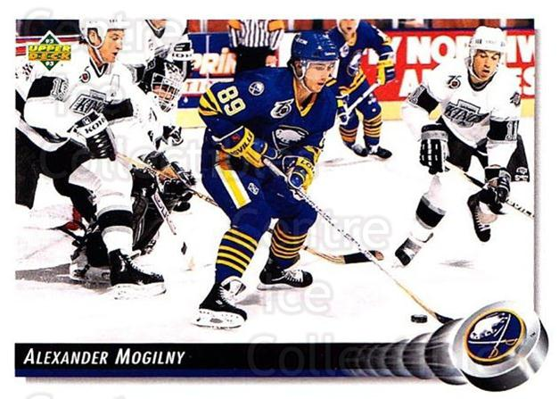 1992-93 Upper Deck #167 Alexander Mogilny<br/>5 In Stock - $1.00 each - <a href=https://centericecollectibles.foxycart.com/cart?name=1992-93%20Upper%20Deck%20%23167%20Alexander%20Mogil...&quantity_max=5&price=$1.00&code=7419 class=foxycart> Buy it now! </a>