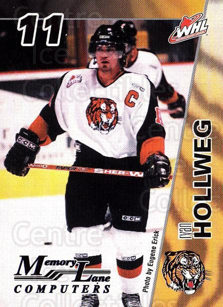 2003-04 Medicine Hat Tigers #7 Ryan Hollweg<br/>1 In Stock - $3.00 each - <a href=https://centericecollectibles.foxycart.com/cart?name=2003-04%20Medicine%20Hat%20Tigers%20%237%20Ryan%20Hollweg...&quantity_max=1&price=$3.00&code=742270 class=foxycart> Buy it now! </a>