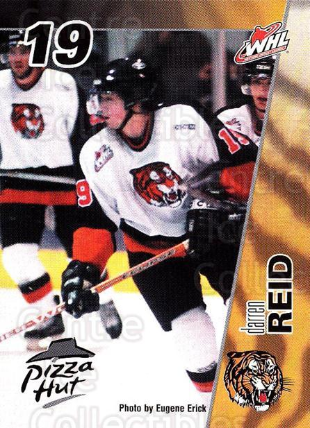 2003-04 Medicine Hat Tigers #12 Darren Reid<br/>1 In Stock - $3.00 each - <a href=https://centericecollectibles.foxycart.com/cart?name=2003-04%20Medicine%20Hat%20Tigers%20%2312%20Darren%20Reid...&quantity_max=1&price=$3.00&code=742275 class=foxycart> Buy it now! </a>