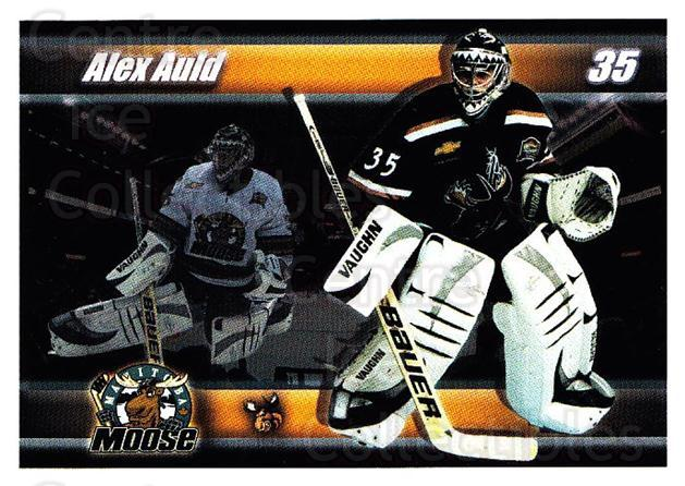 2003-04 Manitoba Moose #19 Alex Auld<br/>2 In Stock - $3.00 each - <a href=https://centericecollectibles.foxycart.com/cart?name=2003-04%20Manitoba%20Moose%20%2319%20Alex%20Auld...&quantity_max=2&price=$3.00&code=742490 class=foxycart> Buy it now! </a>