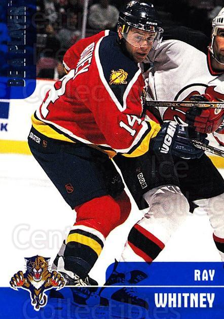 1999-00 BAP Memorabilia #20 Ray Whitney<br/>3 In Stock - $1.00 each - <a href=https://centericecollectibles.foxycart.com/cart?name=1999-00%20BAP%20Memorabilia%20%2320%20Ray%20Whitney...&quantity_max=3&price=$1.00&code=74284 class=foxycart> Buy it now! </a>