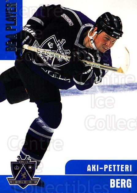 1999-00 BAP Memorabilia #221 Aki Berg<br/>5 In Stock - $1.00 each - <a href=https://centericecollectibles.foxycart.com/cart?name=1999-00%20BAP%20Memorabilia%20%23221%20Aki%20Berg...&quantity_max=5&price=$1.00&code=74307 class=foxycart> Buy it now! </a>