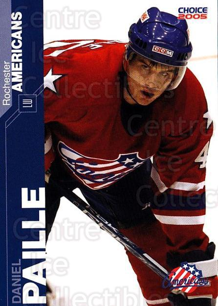 2004-05 Rochester Americans #15 Daniel Paille<br/>2 In Stock - $3.00 each - <a href=https://centericecollectibles.foxycart.com/cart?name=2004-05%20Rochester%20Americans%20%2315%20Daniel%20Paille...&quantity_max=2&price=$3.00&code=743276 class=foxycart> Buy it now! </a>