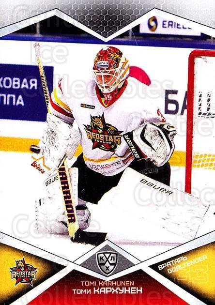 2016-17 Russian KHL #KRS01 Tomi Karhunen<br/>1 In Stock - $2.00 each - <a href=https://centericecollectibles.foxycart.com/cart?name=2016-17%20Russian%20KHL%20%23KRS01%20Tomi%20Karhunen...&quantity_max=1&price=$2.00&code=744821 class=foxycart> Buy it now! </a>
