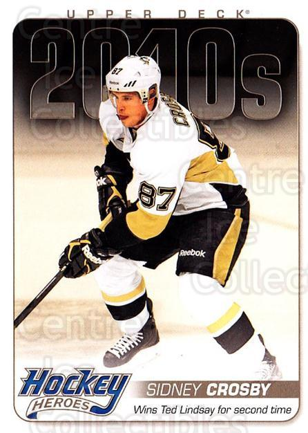 2014-15 Upper Deck Hockey Heroes #87 Sidney Crosby<br/>1 In Stock - $5.00 each - <a href=https://centericecollectibles.foxycart.com/cart?name=2014-15%20Upper%20Deck%20Hockey%20Heroes%20%2387%20Sidney%20Crosby...&quantity_max=1&price=$5.00&code=745573 class=foxycart> Buy it now! </a>