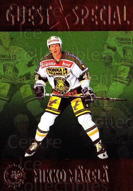 1994-95 Finnish SISU Guest Special #5 Mikko Makela<br/>1 In Stock - $5.00 each - <a href=https://centericecollectibles.foxycart.com/cart?name=1994-95%20Finnish%20SISU%20Guest%20Special%20%235%20Mikko%20Makela...&quantity_max=1&price=$5.00&code=745582 class=foxycart> Buy it now! </a>