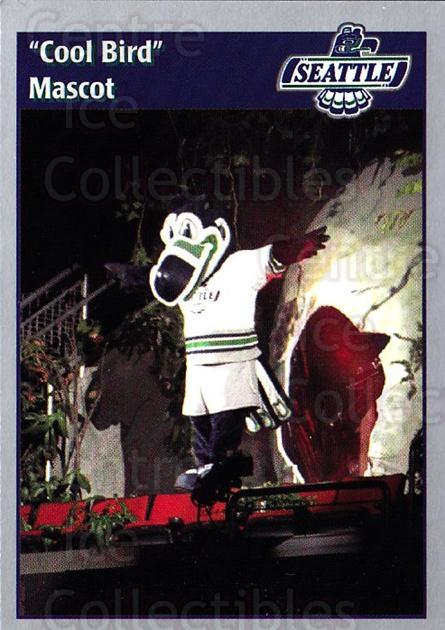 1995-96 Seattle Thunderbirds #31 Mascot<br/>2 In Stock - $3.00 each - <a href=https://centericecollectibles.foxycart.com/cart?name=1995-96%20Seattle%20Thunderbirds%20%2331%20Mascot...&quantity_max=2&price=$3.00&code=745726 class=foxycart> Buy it now! </a>