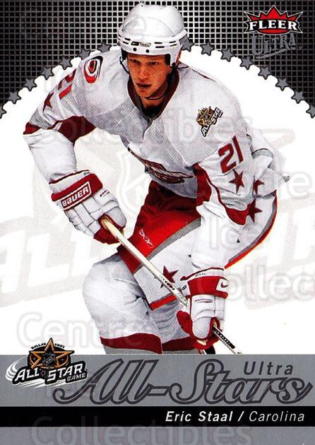 2007-08 Ultra All-Stars #27 Eric Staal<br/>1 In Stock - $5.00 each - <a href=https://centericecollectibles.foxycart.com/cart?name=2007-08%20Ultra%20All-Stars%20%2327%20Eric%20Staal...&quantity_max=1&price=$5.00&code=745758 class=foxycart> Buy it now! </a>