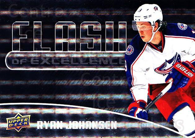 2014-15 Upper Deck Overtime Flash of Excellence #7 Ryan Johansen<br/>1 In Stock - $3.00 each - <a href=https://centericecollectibles.foxycart.com/cart?name=2014-15%20Upper%20Deck%20Overtime%20Flash%20of%20Excellence%20%237%20Ryan%20Johansen...&quantity_max=1&price=$3.00&code=745819 class=foxycart> Buy it now! </a>