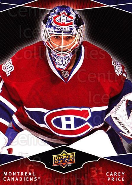 2009-10 UD Ovation Spotlight #6 Carey Price<br/>2 In Stock - $10.00 each - <a href=https://centericecollectibles.foxycart.com/cart?name=2009-10%20UD%20Ovation%20Spotlight%20%236%20Carey%20Price...&quantity_max=2&price=$10.00&code=745894 class=foxycart> Buy it now! </a>